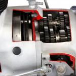AWO Motorrad Getriebe im Schnitt