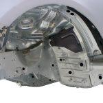 Blick auf die Rohkarosserie des Audi Q5