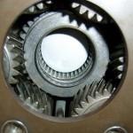 Detail eines Automatikgetriebes