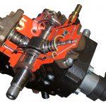 Sie sehen eine Diesel Hochdruckpumpe als Schnittmodell.