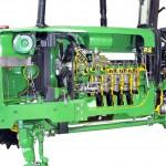 JohnDeere Traktor im Schnitt