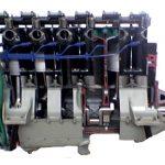 Blick auf das Schnittmodell eines Junkers L5 Flugmotors