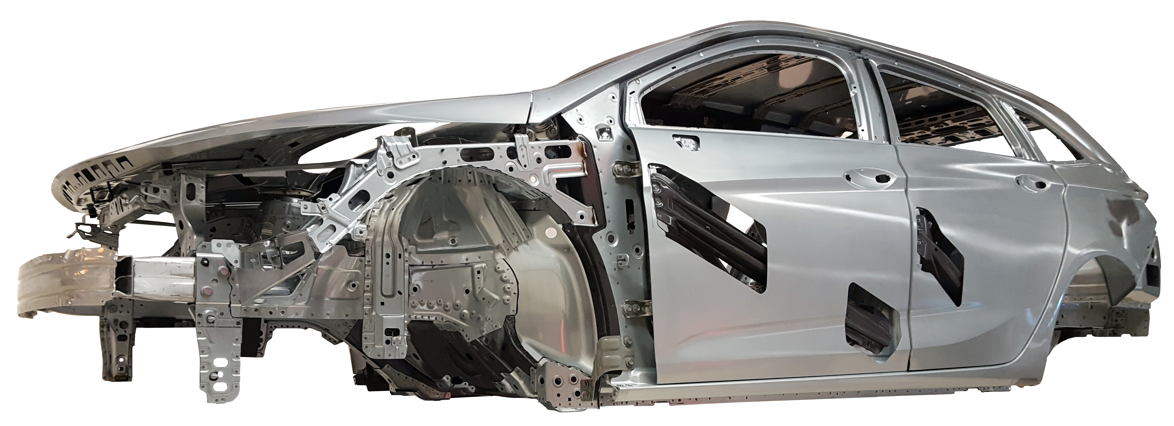 Rohkarosserie des Opel Astra Sports Tourer 2016
