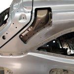 Blick auf das Heck des Opel Astra Sports Tourer 2016