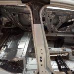 Blick auf die aufgeschnittene B-Säule des Opel Astra Sports Tourer 2016
