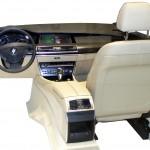 Sitzkiste eines BMW