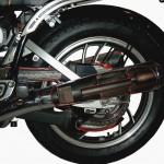 Yamaha Motorrad Schnittmodell TR 1